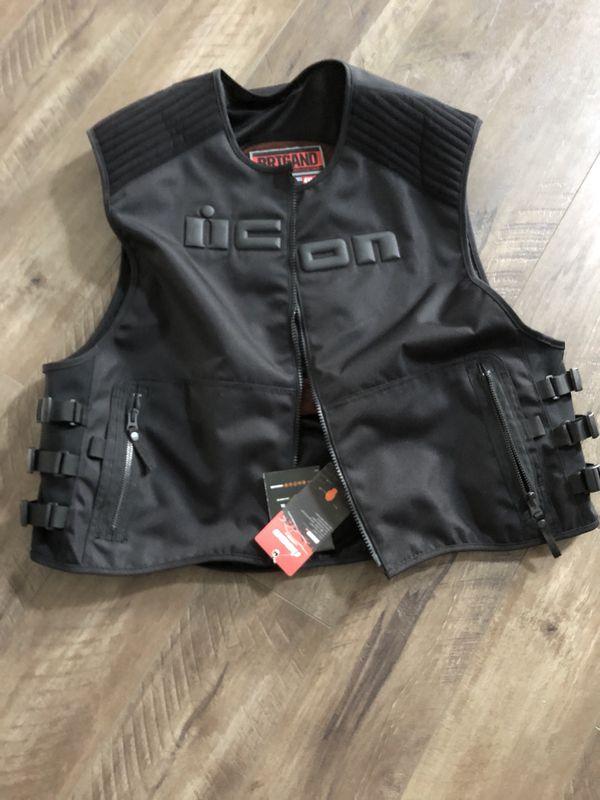 ICON motorcycle vest NEW!!!!!4-5xl!!!
