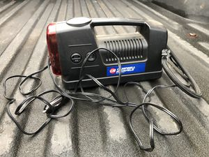 Campbell Hausfeld 12V Portable Air Compressor and Light for Sale in Seattle, WA