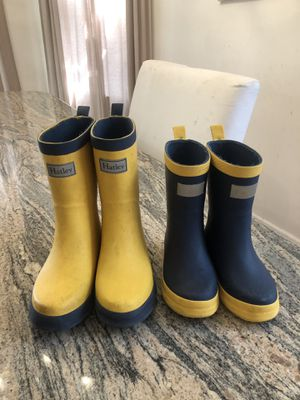Kids rain boots size 12 & 8 for Sale in Brooklyn, NY