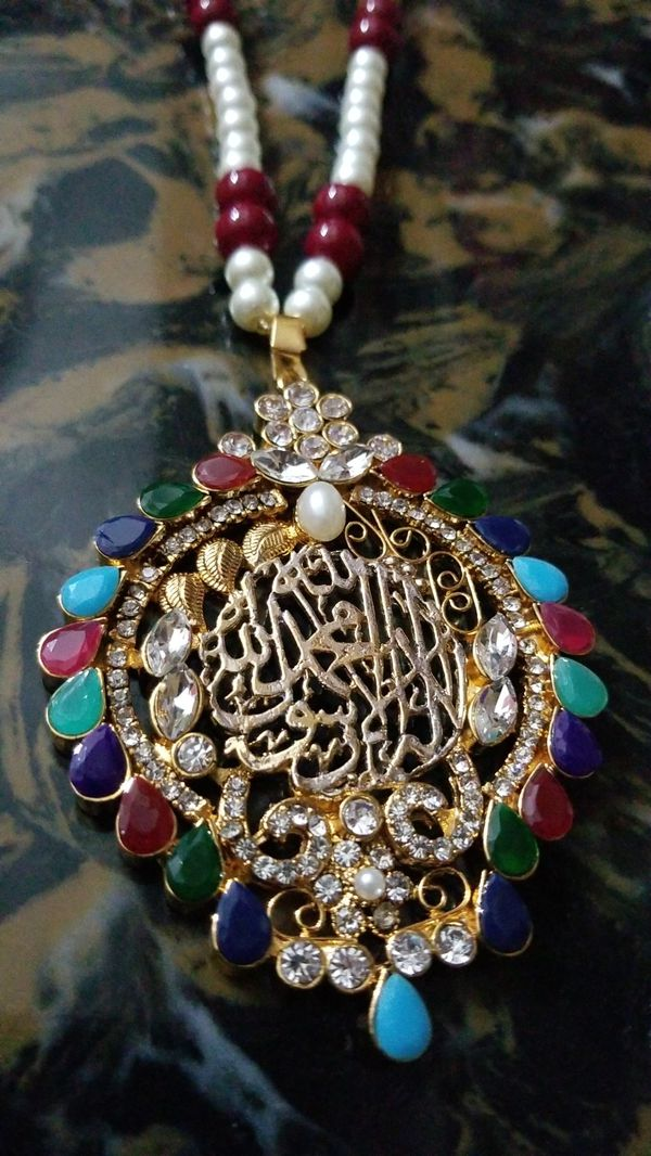 Long foreign necklace