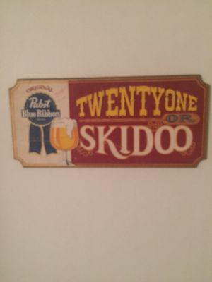 Antique wooden sign for Sale, used for sale  Gaffney, SC