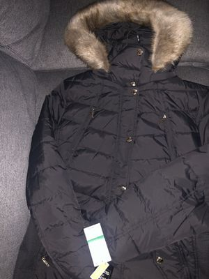 Michael Kors jacket, large size, gray. for Sale in Hayward, CA