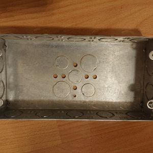 """Lot Of 10pcs 3 Gang Electrical Box 1 5/8"""" UL Listed for Sale in Brooklyn, NY"""