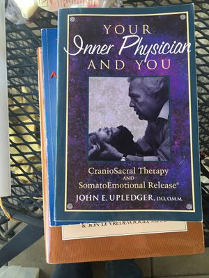 Cranial sacral , cures for cancer health books for Sale in Huntington Beach, CA