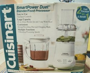 Cuisinart Smart Power Duet Blender/Food Processor for Sale in Fort Lauderdale, FL