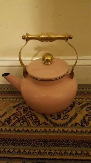 A pink tea pot for Sale in Manassas, VA
