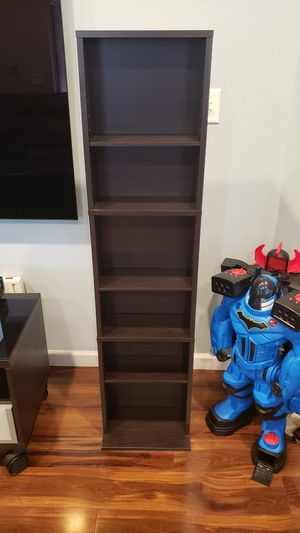 Shelve unit DVD book storage for Sale in Lacey, WA