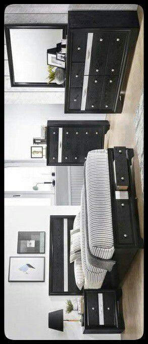 🆕SET🆕 Regata Black Storage Platform Bedroom Set for Sale in Washington, DC