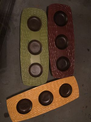 Colorful candle holders for Sale in Los Angeles, CA