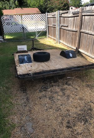 Hand built trailer , it has a title for Sale in Arlington, TX
