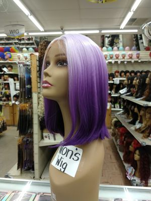 NX. Short purple lavender lace front wig for Sale in S CHESTERFLD, VA