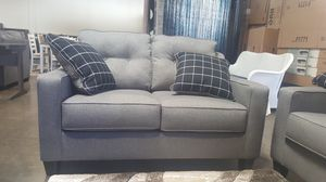 Ashley Furniture Charcoal Sofa and Loveseat for Sale in Garden Grove, CA