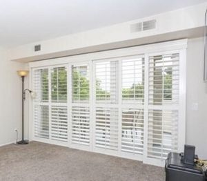 Shutter Blinds for Sliding Door for Sale in San Diego, CA