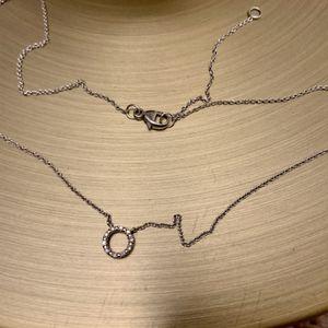Silver And Cubic Zirconium Necklace for Sale in Alexandria, VA