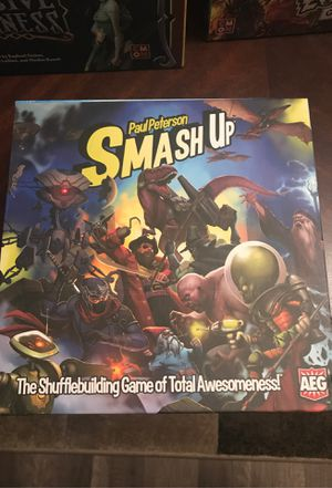 Smash up board game/card game for Sale in Graham, WA