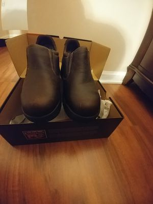 Timberland PRO Boots: Men's TiTAN Brown Oxford 53534 EH Safety Toe Work Shoes for Sale in Raleigh, NC