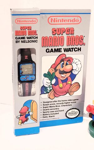 New 1989 Nintendo Mario Game Watch for Sale in Anaheim, CA
