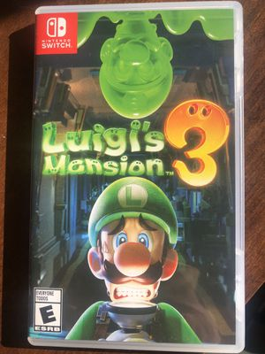 Luigi's Mansion 3 Switch for Sale in Seattle, WA