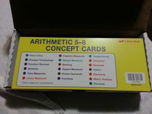 Abeka Concept Cards Brand New for Sale for sale  Lakewood, WA