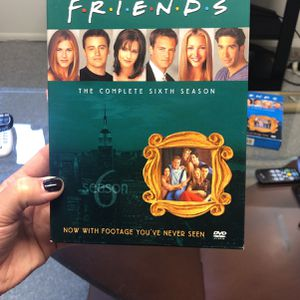 Friends Season 6 DVD Set for Sale in Holladay, UT