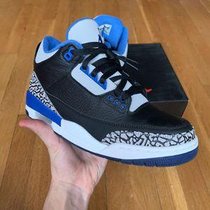 Jordan 3 Sport Blue VNDS for Sale in Brooklyn, NY