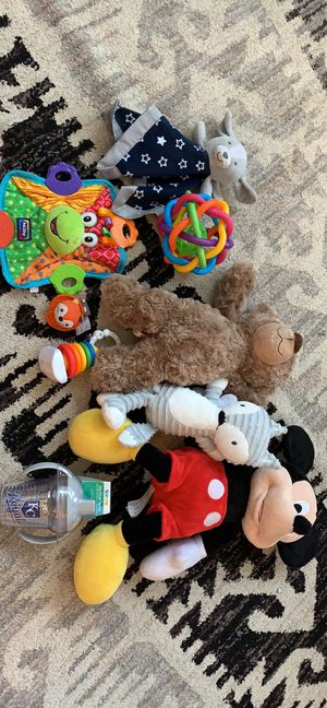 Infant Toys and Stuffed Animals for Sale in Brentwood, CA
