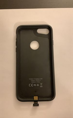 iPhone 7 wireless charging case for Sale in Arlington, VA