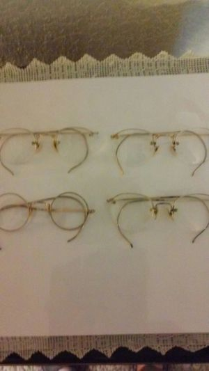 Antique Glasses. (early 1900) Gold frame for Sale in Hemet, CA