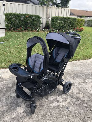 Double stroller, sit and stand for Sale in Boca Raton, FL