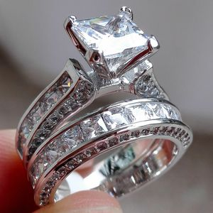 Princess Cut Bridal Wedding Ring Jewelry Size 5 - 11 *See My Other 300 Item* for Sale in Palm Beach Gardens, FL