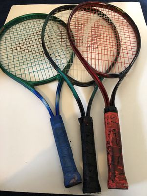 Tennis rackets used for Sale in West Covina, CA
