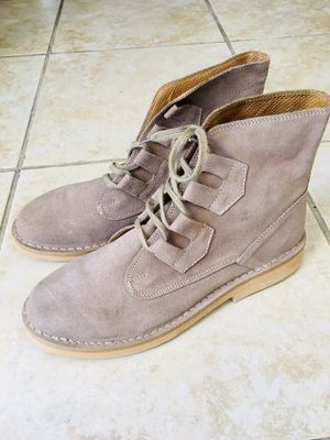 Brand new Men's suede boots . Size :11 . Very soft and beautiful. for Sale in Fremont, CA