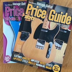 Vintage Guitar Price Guide '17 + '18 for Sale in Old Westbury,  NY