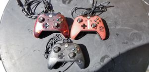 XBOX ONE WIRED Controllers, PRICE FIRM, NO TRADE, $25 EACH for Sale in Garden Grove, CA