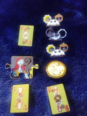 Nightmare before Christmas pins for Sale in Rialto, CA