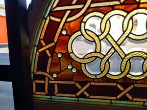 Antique Stained glass window for Sale in Redondo Beach, CA