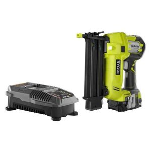 Ryobi 18-Volt ONE+ AirStrike 18-Gauge Brad Nailer Kit with 2.0 Ah Battery and 18-Volt Charger for Sale in Temple, GA