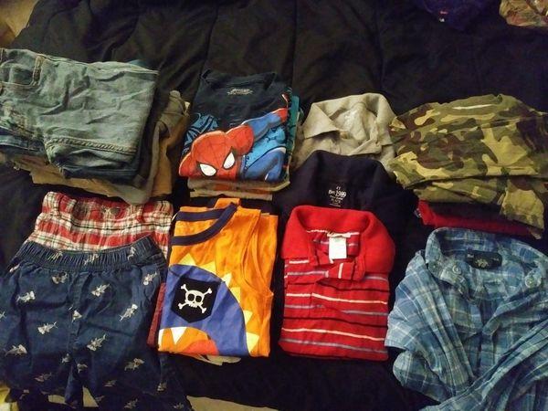 4t boy clothes 30 pcs