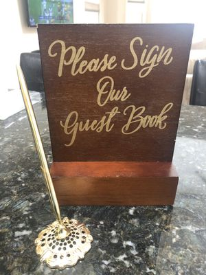 Guest Book Sign for Sale in Chicago, IL