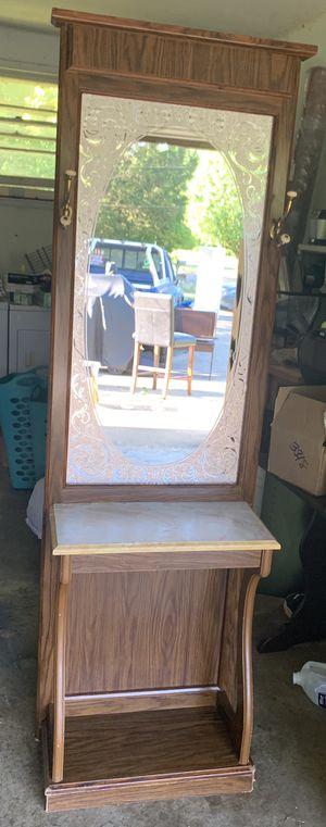 Antique mirror coat rack for Sale in La Vergne, TN