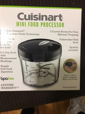 Cuisinart Manual Mini Food Processor for Sale in New York, NY