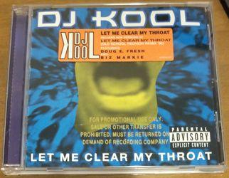 DJ KOOL -  Let Me Clear My Throat. PROMO for Sale in Saginaw, TX