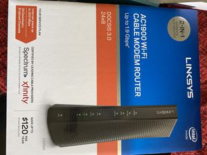 Linksys Modem and Router for Sale in Bowie, MD