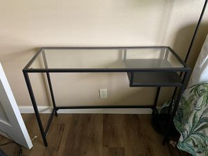 Glass study table for Sale in San Diego, CA