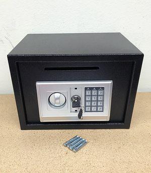"New $50 Depository 14""x10""x10"" Digital Security Safe Box Electric Keypad Lock w/ Master Key for Sale in South El Monte, CA"
