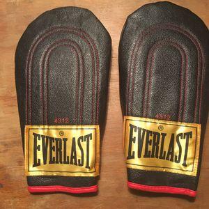 Everlast leather speed bag gloves model 4312 for Sale in San Francisco, CA