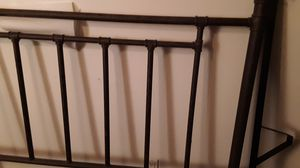 Round tube style bed frame with brass fittings. No mattress or box spring for Sale in Philadelphia, PA
