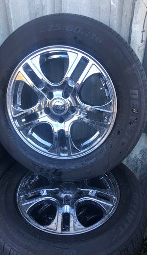 4 wheels with rims and tires excellent condition for Sale in Lorton, VA