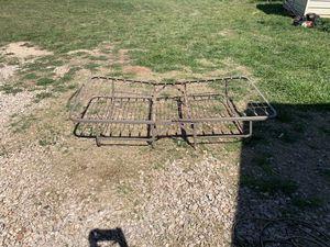 Rolling twin bed frame, folds in half for Sale in Abilene, TX