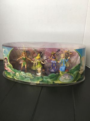DISNEY STORE FAIRIES FIGURINE SET TINKER BELL for Sale in Los Angeles, CA
